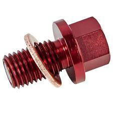 GYTR YAMAHA RED MAGNETIC OIL DRAIN PLUG 18P-E51C0-U0-00