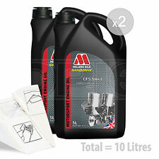 Car Engine Oil Service Kit / Pack 10 LITRES Millers CFS 5w-40 full synth 10L