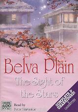 THE SIGHT OF THE STARS - Belva Plain (Cassette Audio Book) (8 Tapes/Unabridged)