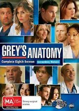 Grey's Anatomy : Season 8 DVD : NEW