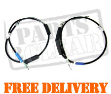 RENAULT TRAFIC VAUXHALL VIVARO For Nissan PRIMASTER REAR HAND BRAKE CABLES CABLE