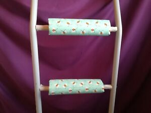 BUZZY BEES Padded BunkBed Ladder Rung Covers*No-Tool Install*(Safe, Non Slip)