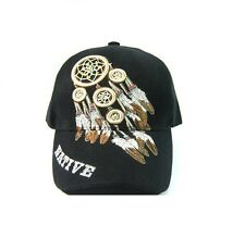 Native Pride Dream Catcher Baseball Hat Cap Black One Size Fits All Adjustable