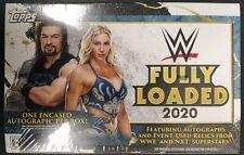2020 Topps WWE Fully Loaded Hobby Box Factory Sealed