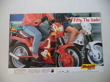 advertising Pubblicità 1988 MALAGUTI FIFTY FULL CX/TOP 50