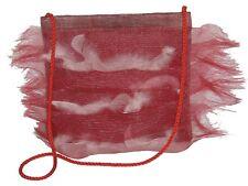 Sac à main de Créateur Made in FRANCE rouge femme cérémonie red woman french bag