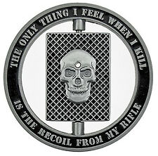 Army Sniper Specialist Marksman - One Shot Spinner Challenge Coin – Gift for Men