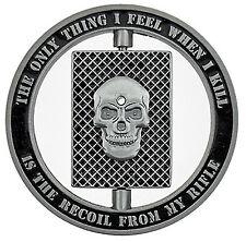 Marine Sniper Specialist - One Shot Spinner Challenge Coin – Gift for Men