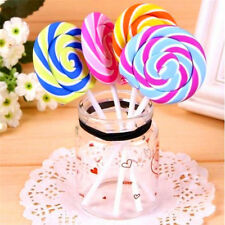 Creative Lollipop Eraser Rubber Pencil Candy Stationery Kid Student Gift Toy HOT