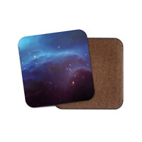 Awesome Blue Nebula Coaster - Space Galaxy Sci-Fi Cool Fun Science Gift #13016