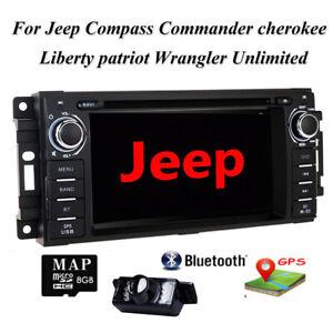 """Für JEEP Grand Cherokee Jouruney 6.2"""" Autoradio GPS USB Navi Mit Rückfahrkamera"""