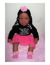 "Reborn 22"" Ethnic Biracial Infant Toddler doll Araya Rene (Re Re)"