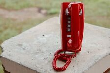 Cortelco Red Push Button Wall Telephone Great for Alabama Fans