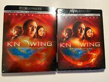 Knowing (4K Ultra HD Blu-ray, 2018) W/Slipcover