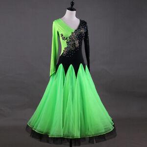2021 Internatinal Standard Dance Ballroom dancing Waltz Dress 198