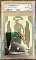 *BUYBACK PACK PLEASE READ* Jayson Tatum Panini Prizm RC PSA 10 Rookie Chase Pack