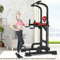 Power Rack Exercise Stand Pull Up Bar Fitness Weightlifting Home Gym Squat Power