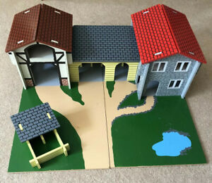 wooden farmyard  🦆🐑🐄/ Stables🐴 Childs Imaginary Play Toy ...Really Well Made