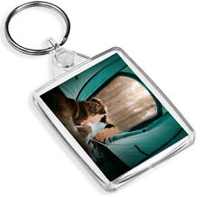 Beautiful Dog's Keyring - IP02 - Camping Tent Forest Trees Holiday Gift #12696