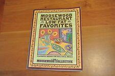 Moosewood Restaurant Low-Fat Favorites Cookbook, Flavorful Healthy Meals!