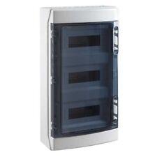 Tableau Coffret électrique étanche 3 rangées 36 modules IP65 IDE Réf CDN36PT3F