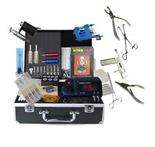 High Quality Tattooing Power body Piercing complete tattoo Equipment machine kit