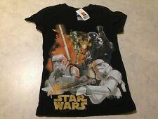 Star Wars Kids/Childrens 5/6 T-Shirt non blu-ray/dvd art! boys girls juniors NEW
