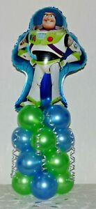 BUZZ LIGHTYEAR TOY STORY - FOIL BALLOON DISPLAY KIT - TABLE DECORATION UK SELLER