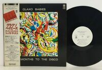 Glaxo Babies – Nine Months To The Disco LP 1981 Japan White Promo Trio w/ obi