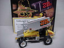 DOTY BRAD BOWERS COAL OUTLAW METAL WINGED SPRINT DIRT CAR #28D GMP 1/18 SCALE