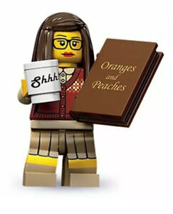 """LEGO MINIFIGURES SERIES 10 The """"LIBRARIAN"""" SEALED PACK 71001) 2013"""