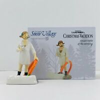 Dept. 56 National Lampoon's Christmas Vacation Cousin Eddie in the Morning