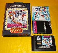 WINTER OLYMPICS Sega MegaDrive Mega Drive Versione Europea PAL ○ COMPLETO - A4
