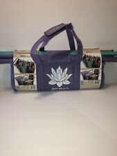 NEW Lotus Trolley Bags Set of 4 w LRG COOLER Bag & Egg Wine Holder Reusable Bags