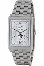 Jean D'eve Men's 807051OR.AA Tanga Moon Phase Stainless-Steel Bracelet Watch