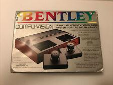 Vintage NIB Bentley Compu-Vision Deluxe Home-TV Video Game Computer System
