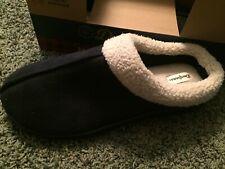 Dearfoams Men Clog Slippers Memory Foam Comfort In/Outdoor Size XL 13-14