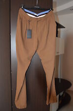 ~SALDI PINKO Pantaloni Donna T.42 Cammello Made in Italy Trousers Женские брюки
