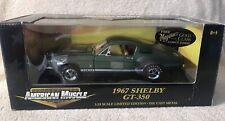ERTL 1:18 GREEN 1967 FORD MUSTANG SHELBY GT-350 LIMITED EDITION NIB VHTF! 32560