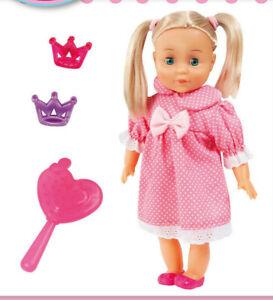Charlene 33cm Puppe mit Haaren Schlafaugen Weichkörperpuppe  933x