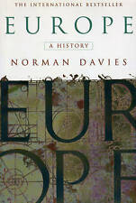 Europe: A History, Davies, Norman, Very Good Book