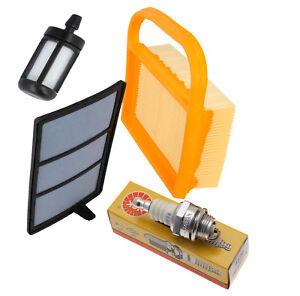 Service Kit, Air Filter, Plug, Fuel Filter Fits STIHL TS410 TS420
