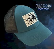 New The North Face Mudder Storm Blue Snapback Trucker Cap Hat