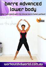 Barre Ballet EXERCISE DVD - Barre Advanced Lower Body BARLATES BODY BLITZ!