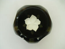 """Limited Edition Caithness """"Christmas Rose"""" Paperweight (470/1000) - <2 3/4"""""""