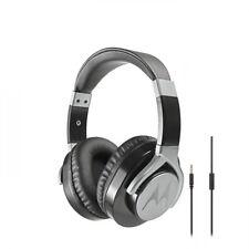 OEM Motorola Pulse Max Wired Over-Ear Headphones Hi-Fi Sound Mic Universal 3.5mm
