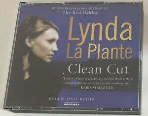 AUDIO BOOK Lynda La Plante CLEAN CUT on 5 x CDs read by Janet McTeer