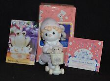 PRECIOUS MOMENTS ~SCOOTIN' BY JUST TO SAY HI! ~B0111~CLOWN ON SCOOTER~NIB~HEART