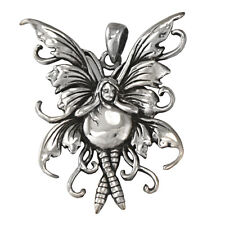 Amy Brown Water Fairy - Sterling Silver Fairie Jewelry Pendant Fantasy Art