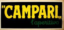 Original Campari L'Aperitivo Banner by Leonetto Cappiello 1921